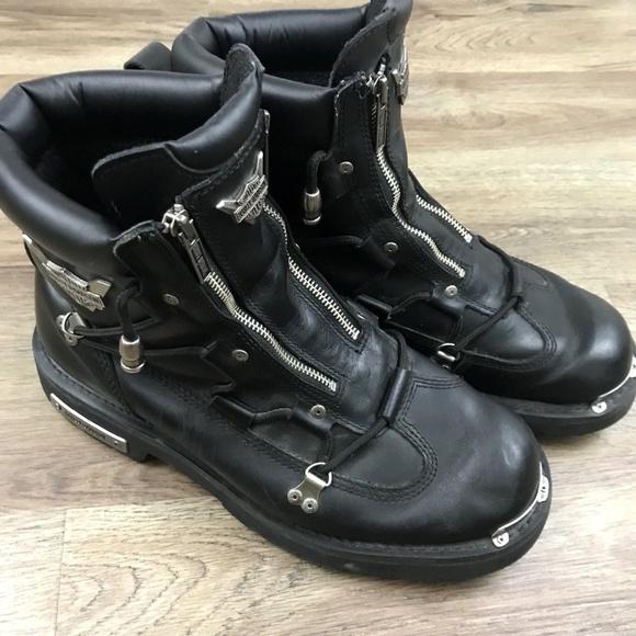 76b1c86071731f Harley-Davidson Other - Harley Davidson Brake Light Zip Up Riding Boots